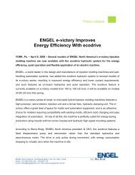 ENGEL e-victory Improves Energy Efficiency With ... - Engel Austria