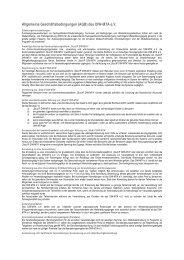 Allgemeine Geschäftsbedingungen (AGB) des DIW-MTA e
