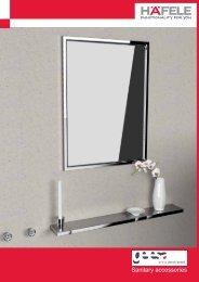 Sanitary accessories - Hafele