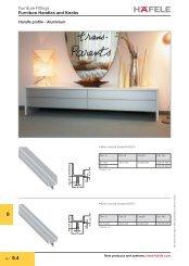 Furniture Handles and Knobs - Hafele