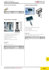Switch and Socket System - Hafele