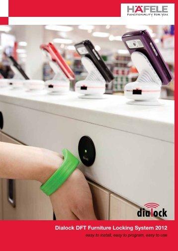 Dialock DFT Furniture Locking System 2012 - Hafele