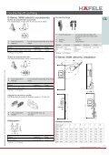Overhead Flap Fittings - Hafele - Page 7
