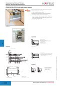 Organisational Kitchen Fittings Drawer and Front Extensions - Hafele - Page 5