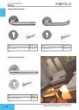 Modern lever handle sets - Hafele - Page 3