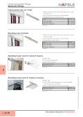 Home Improvement Fittings - Wardrobe fittings, Bedroom ... - Hafele - Page 5
