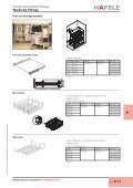 Home Improvement Fittings - Wardrobe fittings, Bedroom ... - Hafele - Page 6