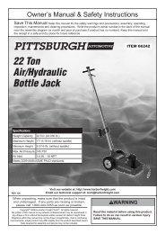 submersible spotlight 20 watts harbor freight tools. Black Bedroom Furniture Sets. Home Design Ideas