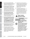 90 AMP FLUX WIRE WELdER - Harbor Freight Tools - Page 6