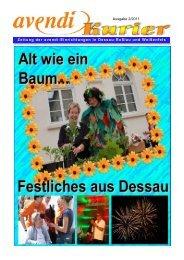 Ausgabe 2/2011 Zeitung der avendi-Einrichtungen in Dessau ...
