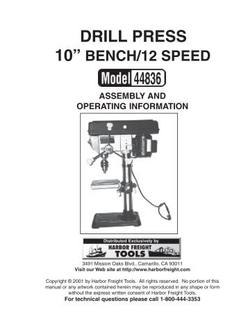 model g7945/46 radial drill press owner's manual - Grizzly.com on drill press safety, drill press controls, drill press transmission, drill press plug, drill press tools, drill press forum, drill press frame, drill press maintenance, drill press accessories, drill press switch, drill press assembly, drill press lighting, drill press capacitor, drill press specifications, drill press dimensions, drill press operation, drill press lubrication system, drill press exploded view, drill press cabinet,