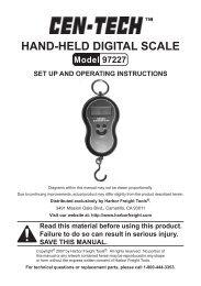 Hand-Held digital scale Model 97227 - Harbor Freight Tools