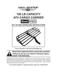 150 Lb CapaCity atV Cargo Carrier - Harbor Freight Tools