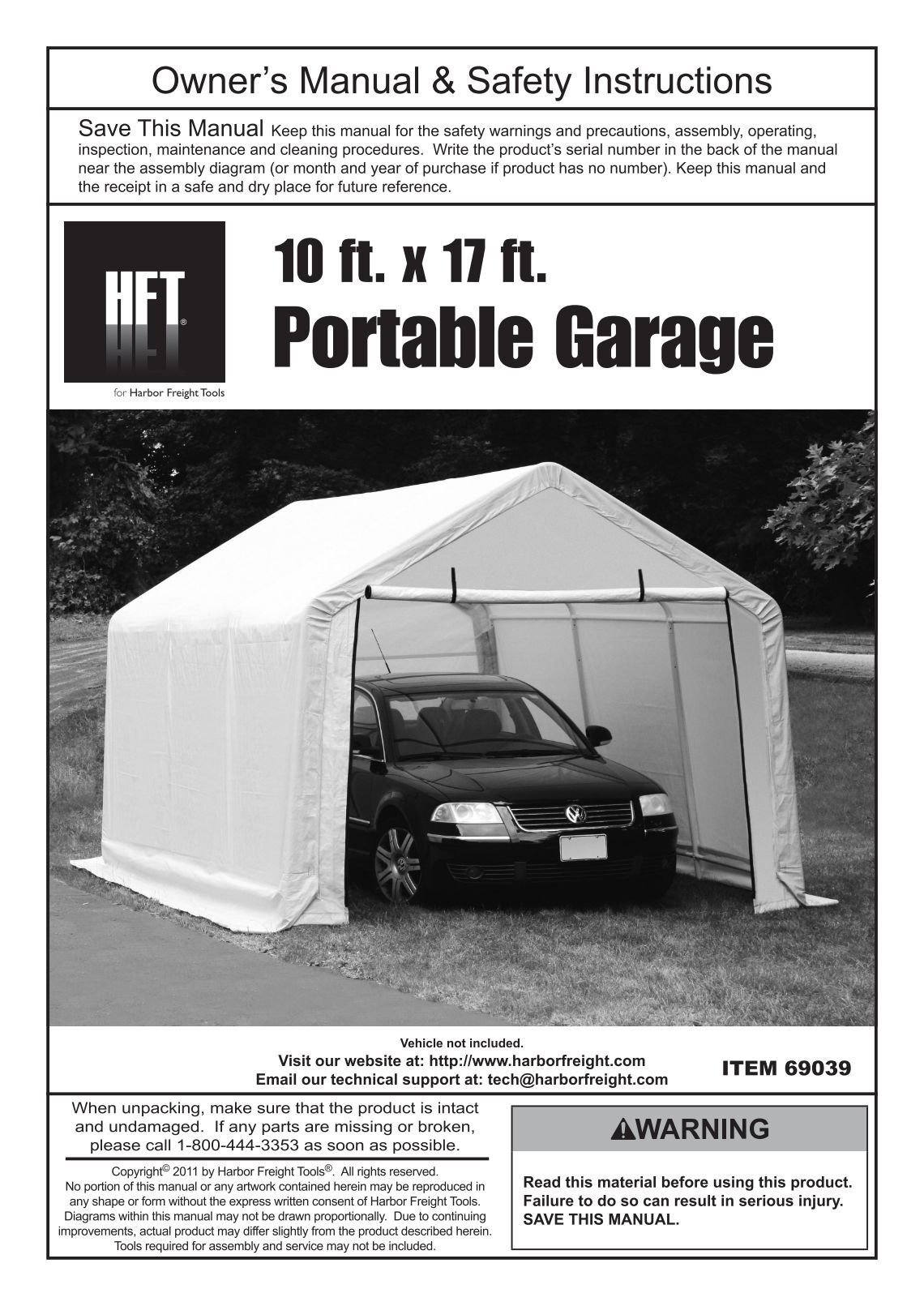Harbour Freight Portable Garage : Harbor freight portable garage bing images