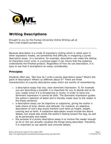 writing better conference session descriptions 139 writing descriptions barstow community college
