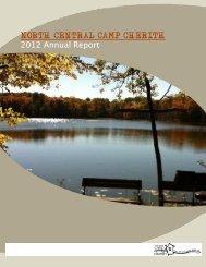 2012 Camp Cherith Annual Report