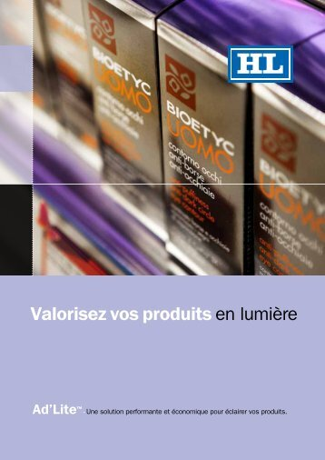 notre brochure - HL Display