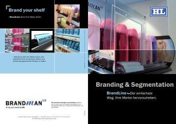 unsere Broschüre - HL Display