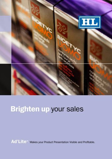 download our brochure - HL Display