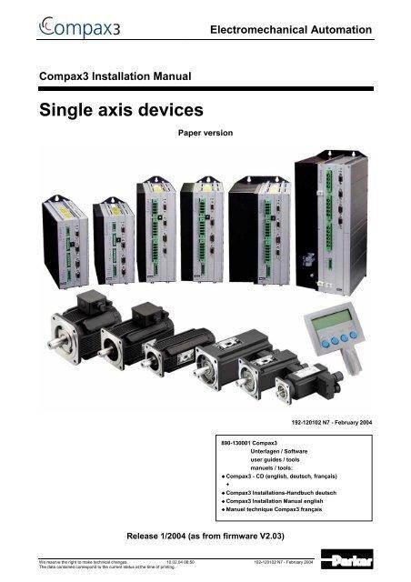 Parker Hannifin Port Devices Driver Download