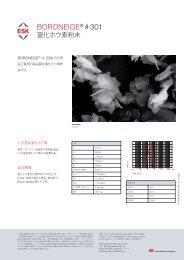 BORONEIGE® # 301 - ESK Ceramics Gmbh & Co. KG