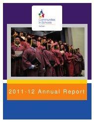 2011-12 Annual Report - Communities In Schools of Durham