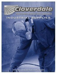 Industrial Supplies Brochure - Cloverdale Paint