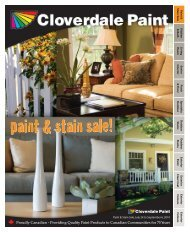 paint & stain sale! - Cloverdale Paint