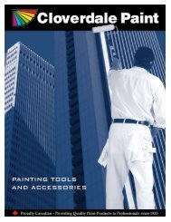 Painting Tools and Accessories - Cloverdale Paint
