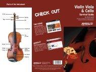 Violin, Viola And Cello Survival Guide - D'Addario Bowed Strings