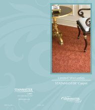 Stainmaster Warranty - Flooring Expo