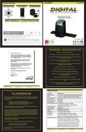 Product Manual - Viatek Catalogs