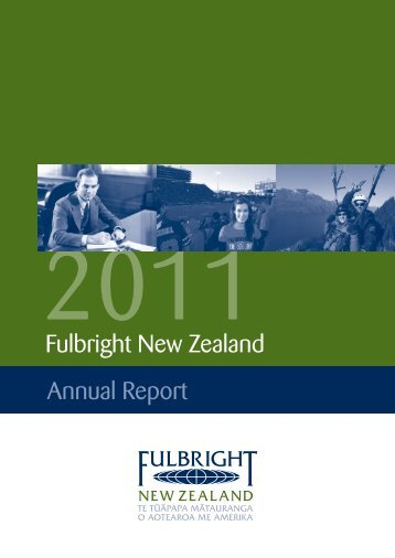 2011 Fulbright New Zealand Annual Report