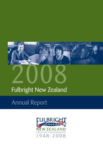 2008 Fulbright New Zealand Annual Report
