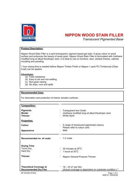 View TSDS - Nippon Paint Malaysia