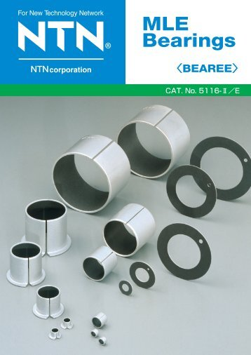 MLE Bearings - NTN