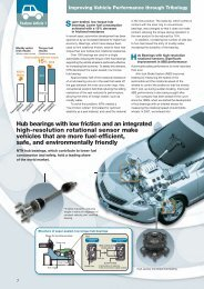 Feature Article 1 Improving Vehicle Performance through ... - NTN
