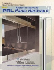 pl-panic.pdf - PRL Glass Systems Inc