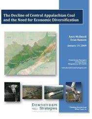 Downstreamstrategies-Declineofcentralappalachiancoal-Final-1-19-10