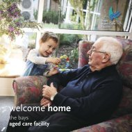 welcome home - The Bays Hospital