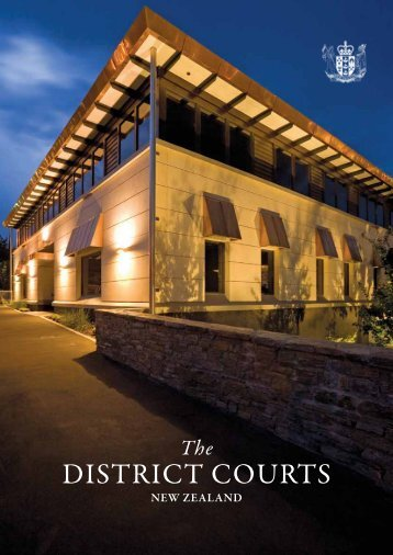 DISTRICT COURTS - Courts of New Zealand