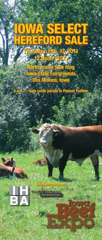 IOWA SELECT - Iowa Hereford Breeders Association