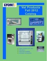 Vet Products Fall 2012 Catalog Fall 2012 Catalog - Lyon