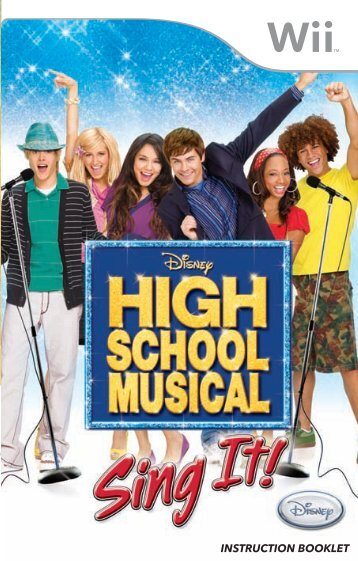 Disney High School Musical: Sing It! (Wii)