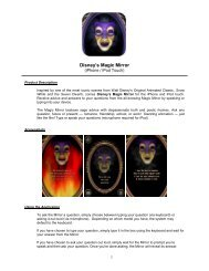 Disney's Magic Mirror - Disney Games