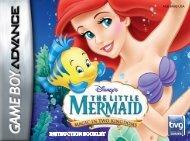 THE LITTLE MERMAID - Disney Games