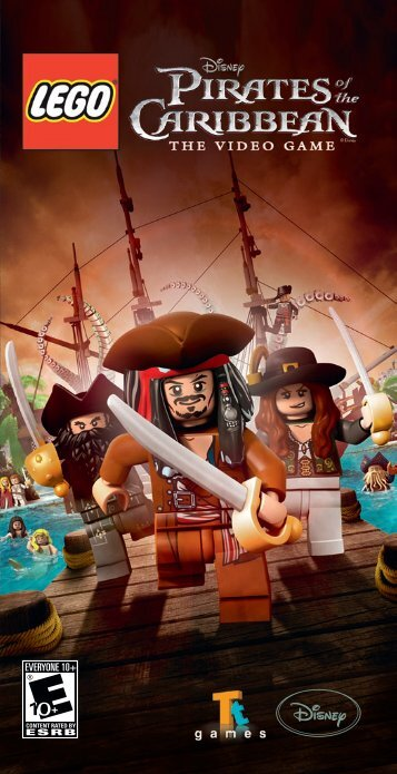 LEGO® Pirates of the Caribbean (PSP)