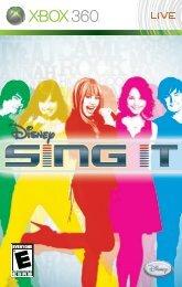 Disney Sing It (Xbox 360)