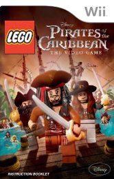 LEGO® Pirates of the Caribbean (Wii)
