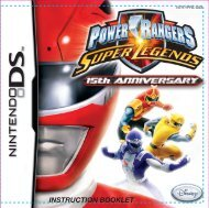 Power Rangers: Super Legends (Nintendo DS)